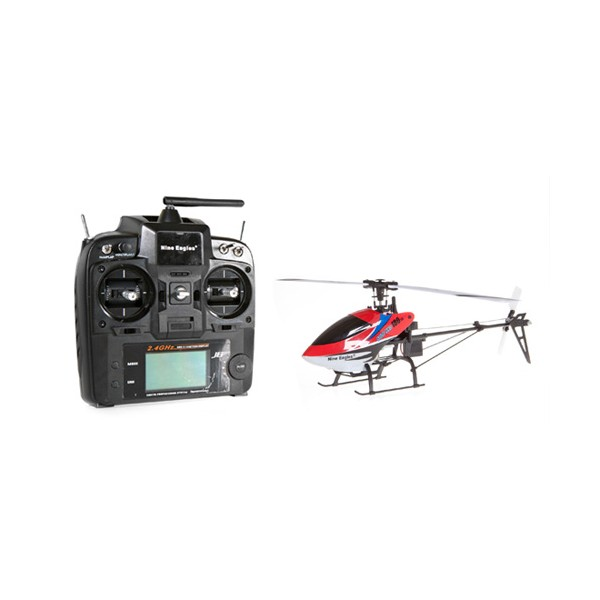 SOLO PRO 318A 180D 3D Helicopter (Red)