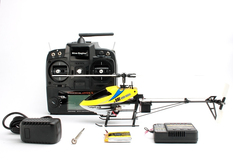 SOLO PRO 318A 180D 3D Helicopter (Yellow)