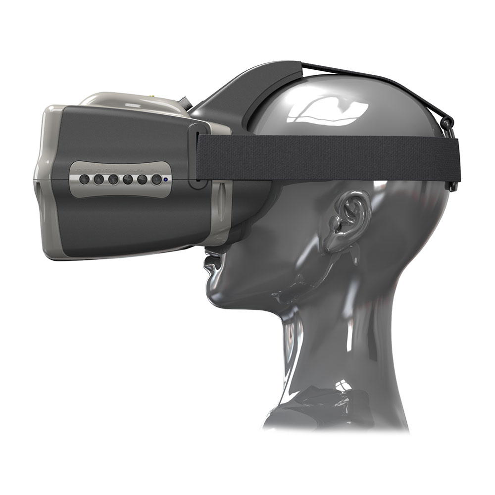HEADPLAY HD-32 high-resolution video helmet FPV