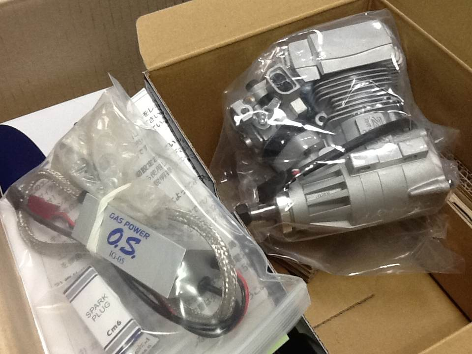 OS Engine GT15HZ For 700 Helicopter (Power boost pipe set)